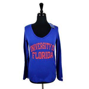 Champion Florida Gator LS Tee. Size: M NWT